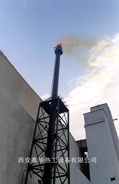 高炉煤气放散点火
